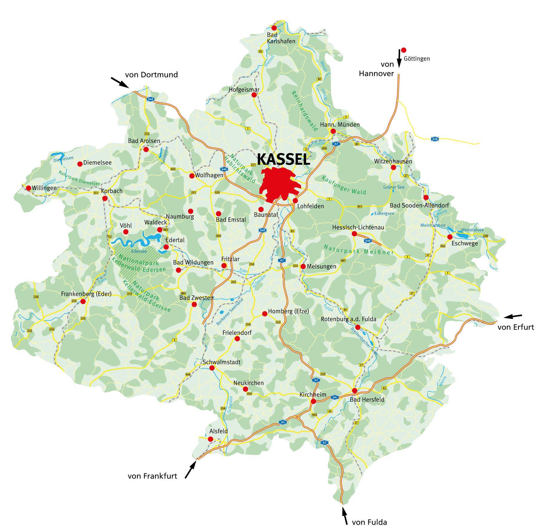 Nordhessen Sehenswürdigkeiten
